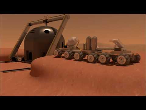 HexHab 2.0 Mars 3D Printed Habitat