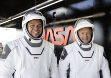 Pierwsza załogowa misja SpaceX - Relacja minuta po minucie