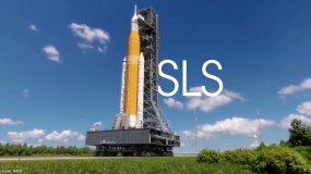 Test dopalaczy na paliwo stałe dla rakiety SLS
