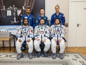 Załoga Sojuz MS-15 gotowa do startu