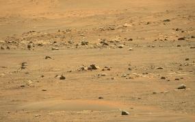 Pomysłowy śmigłowiec NASA na Marsie kończy pierwszą podróż w jedną stronę