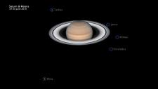 Spektakularne pierścienie Saturna na zdjęciu teleskopu Hubble'a