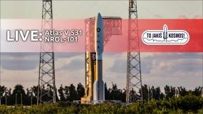 Dziś leci (chyba) Atlas V NROL-101